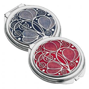 Rennie Mackintosh Heart Compact Mirror